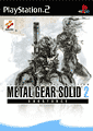 Cover MGS2 Subsistence PS2