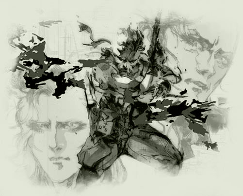 Metal Gear Solid 3 Artwork
